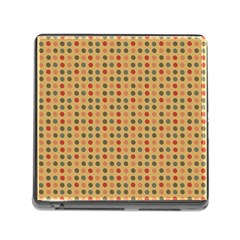 Grey Brown Eggs On Beige Memory Card Reader (square)
