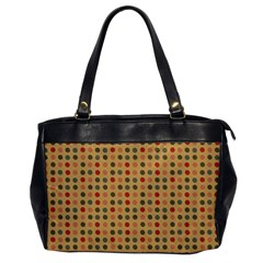 Grey Brown Eggs On Beige Office Handbags