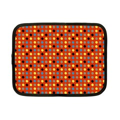 Yellow Black Grey Eggs On Red Netbook Case (small)