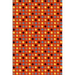 Yellow Black Grey Eggs On Red 5 5  X 8 5  Notebooks