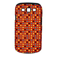 Yellow Black Grey Eggs On Red Samsung Galaxy S Iii Classic Hardshell Case (pc+silicone)
