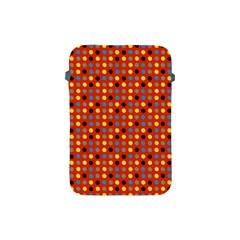 Yellow Black Grey Eggs On Red Apple Ipad Mini Protective Soft Cases