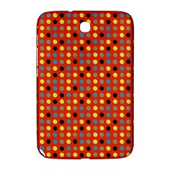 Yellow Black Grey Eggs On Red Samsung Galaxy Note 8 0 N5100 Hardshell Case
