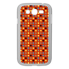 Yellow Black Grey Eggs On Red Samsung Galaxy Grand Duos I9082 Case (white)