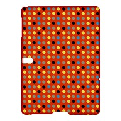 Yellow Black Grey Eggs On Red Samsung Galaxy Tab S (10 5 ) Hardshell Case