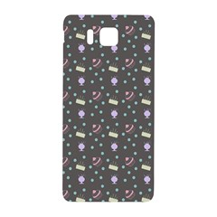 Cakes Yellow Pink Dot Sundaes Grey Samsung Galaxy Alpha Hardshell Back Case