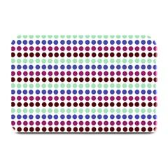 Multi White Dots Plate Mats
