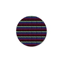 Multi Black Dots Golf Ball Marker