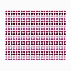Pink Red Dots Small Glasses Cloth (2 Side)