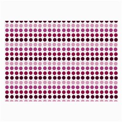 Pink Red Dots Large Glasses Cloth (2 Side)