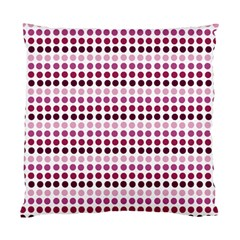 Pink Red Dots Standard Cushion Case (two Sides)