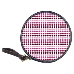 Pink Red Dots Classic 20 Cd Wallets