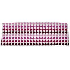 Pink Red Dots Body Pillow Case (dakimakura)