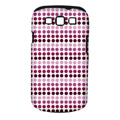 Pink Red Dots Samsung Galaxy S Iii Classic Hardshell Case (pc+silicone)