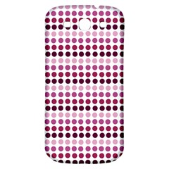 Pink Red Dots Samsung Galaxy S3 S Iii Classic Hardshell Back Case