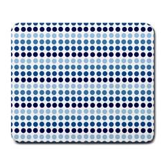 Blue Dots Large Mousepads