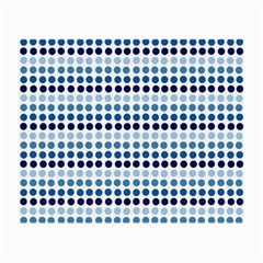 Blue Dots Small Glasses Cloth (2 Side)