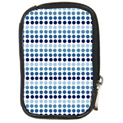 Blue Dots Compact Camera Cases
