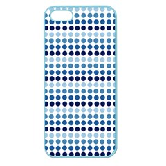 Blue Dots Apple Seamless Iphone 5 Case (color)