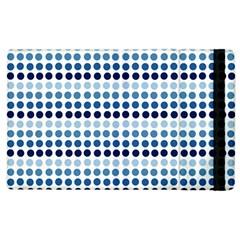 Blue Dots Apple Ipad 2 Flip Case