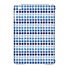 Blue Dots Apple Ipad Mini Hardshell Case (compatible With Smart Cover)