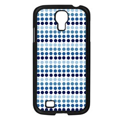 Blue Dots Samsung Galaxy S4 I9500/ I9505 Case (black)