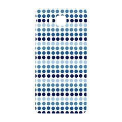Blue Dots Samsung Galaxy Alpha Hardshell Back Case