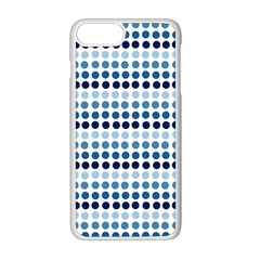 Blue Dots Apple Iphone 8 Plus Seamless Case (white)