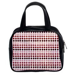 Reddish Dots Classic Handbags (2 Sides)