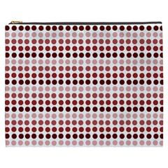 Reddish Dots Cosmetic Bag (xxxl)