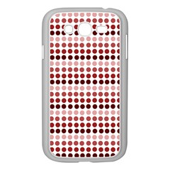 Reddish Dots Samsung Galaxy Grand Duos I9082 Case (white)