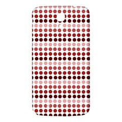 Reddish Dots Samsung Galaxy Mega I9200 Hardshell Back Case