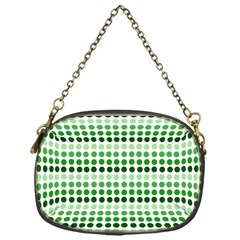 Greenish Dots Chain Purses (one Side)