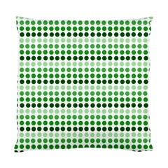 Greenish Dots Standard Cushion Case (one Side)