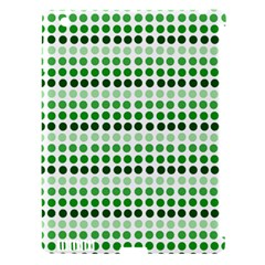 Greenish Dots Apple Ipad 3/4 Hardshell Case (compatible With Smart Cover)