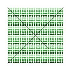 Greenish Dots Acrylic Tangram Puzzle (6  X 6 )