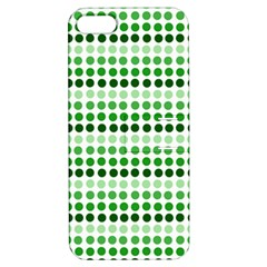 Greenish Dots Apple Iphone 5 Hardshell Case With Stand