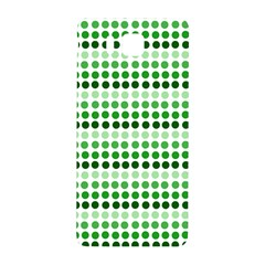 Greenish Dots Samsung Galaxy Alpha Hardshell Back Case