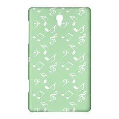 Mint Green White Music Samsung Galaxy Tab S (8 4 ) Hardshell Case