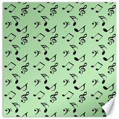 Mint Green Music Canvas 20  X 20