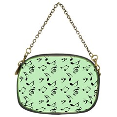 Mint Green Music Chain Purses (one Side)