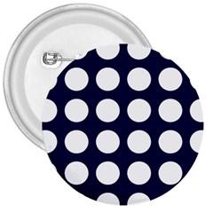 Big Dot Blue 3  Buttons