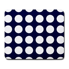 Big Dot Blue Large Mousepads
