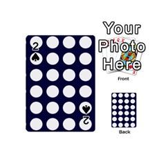 Big Dot Blue Playing Cards 54 (mini)
