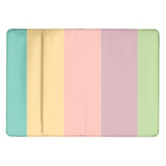 Ice Cream Lines Samsung Galaxy Tab 10 1  P7500 Flip Case