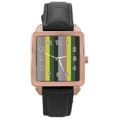 Sid Rose Gold Leather Watch
