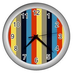 Moneta Wall Clocks (silver)