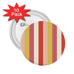 Candy Corn 2 25  Buttons (10 Pack)