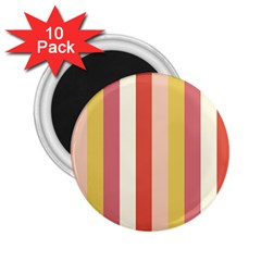 Candy Corn 2 25  Magnets (10 Pack)