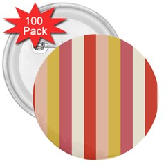 Candy Corn 3  Buttons (100 Pack)